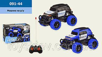 Машина батар. р|у 091-44(96шт|2) 2 кольори, в кор. 19*10*13 см, р-р іграшки– 14*8.5*8 см