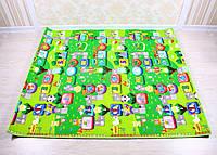 Развивающий коврик для детей Babypol (бебипол) 1800x2000 Маленькая страна/Веселый лабиринт