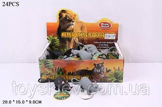 Животные резиновые-тянучки 7218 (36уп по 24шт|2)крыски, по 24шт в боксе28*15*9см |цена за бокс|