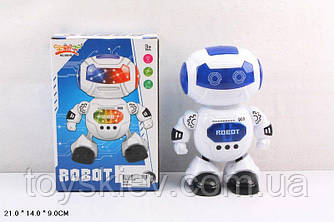 Робот батар. 5901B (72шт|2) світло, звук, в кор. 21*14*9см