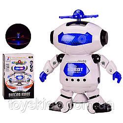 Робот батар. 99444-2 (60шт|2) батар,світло,звук,в кор. 14*8.5*21.5 см, р-р іграшки– 14*8*21 см
