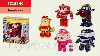 """Трансформер """"Robot Trains"""" 83168HC (120шт 2) 5 видов, в коробке 16,5*16,5*8,5см, р-р игрушки – 9*5*1"""