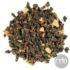 Чай зеленый рассыпной листовой зеленый чай Волшебный сад 50 г