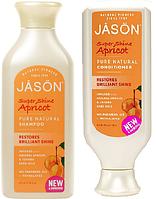 Набор Шампунь & Кондиционер для волос «Абрикос» *Jason (США)*