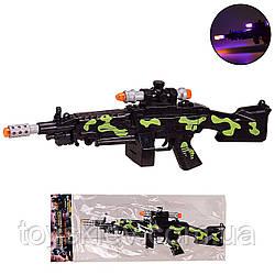 Оружие  999S-19A (144шт|2) свет,звук,в пакете 18*44 см, р-р игрушки – 36 см