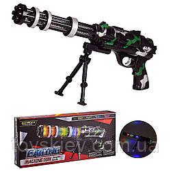Оружие батар 2128A (36шт|2) свет,звук,в коробке 44.5*7.5*20.5 см, р-р игрушки – 45 см