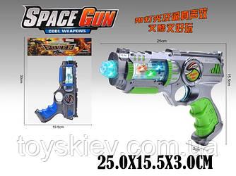 Пистолет батар. RF224C-1 (1768831) (144шт|2) свет, звук, в пакете 30*19,5см