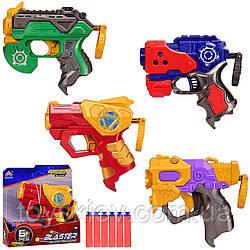 Бластер SB508(144шт 2)4 види, зброя+6снарядов, в об'явл. кор.17*5*17 см, р-р іграшки – 14.5 см