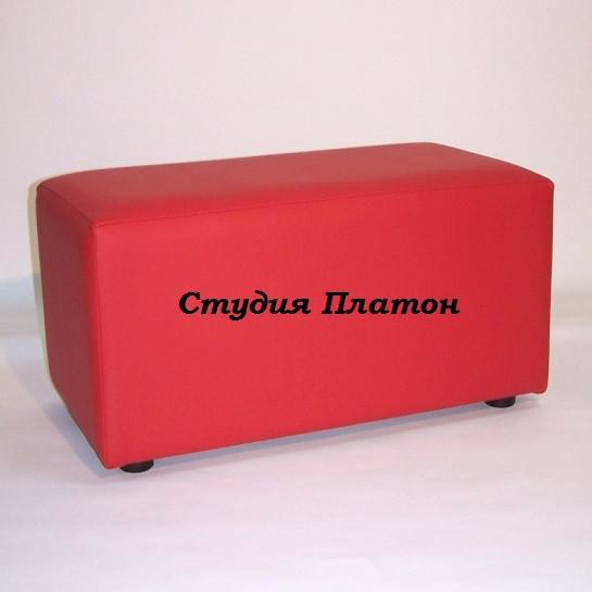 Банкетка (пуфик) BN-001(красный)