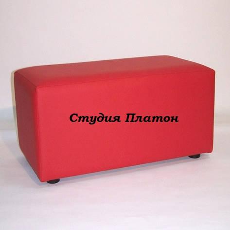 Банкетка (пуфик) BN-001(красный), фото 2