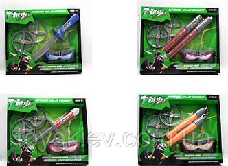 Набір зброї Ninja 6639/6640/6641/6642 (60шт 2)4вида, в кор.30*35*4см
