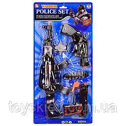 Поліцейський набір 13-1 (60шт|2) на планш 25*52см