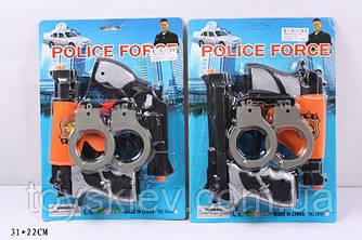 Поліцейський набір 1414-10 (120шт|2) 2 види, на планшетці 31*22см