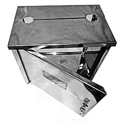 Ящик для лічильника газу (Нержавійка) великий