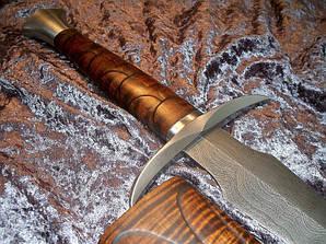 """Кований меч """"Клен"""" - ручна робота, гравіровка, шліфовка, сталь Г90"""