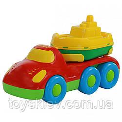 """""""Дружок"""", автомобіль для перевезення кораблика кораблик """"Буксир"""""""