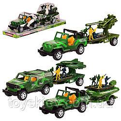 Военная техника инерц. 8666C (60шт|2) 3 вида, под слюдой  37*10*12 см, р-р игрушки – 32*9*7.5 см