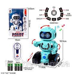 Робот р|у батареї. HD3855 (36шт|2) в кор.11,5*8,5*16,5 см