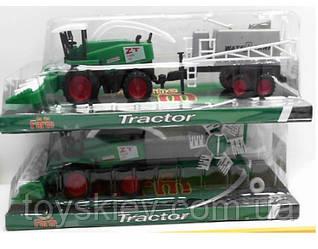 Трактор инерц 798-A83 (72шт|2) 2 вида, под  слюдой 32*11,5*7,5см