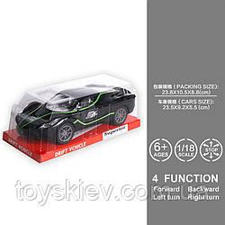 Машина инерц. 111(72шт|2)1:18, під слюдою 24*10.5*9 см, р-р іграшки– 24*9.5*7 см