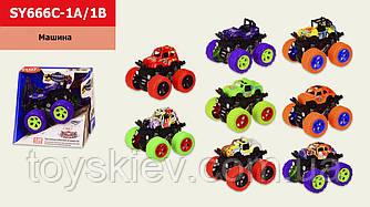 Машина инерц. SY666C-1А 1B (96шт 2) 8 видів, в коробці 12.5*10*11 см, р-р іграшки– 9*8.5*7.5 см