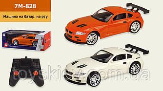 Машина р у батар 7M-828 (48шт 2) 1:16, 2 цвета, размер игрушки - 26*11,5*7см, в кор.33,5*13,5*11,5см