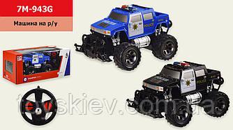 Машина р у батар 7M-943G (48шт 2)  2 цвета, р-р игрушки - 18*11,5*10,5см, в кор.29,5*14*13,5см