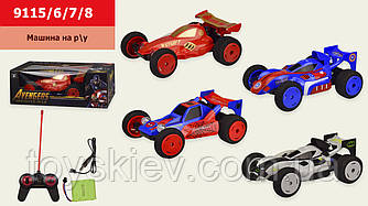 Машина аккум.р у 9115 6 7 8 (24шт 2) 4 вида, в кор. 33,5*18*12 см, р-р игрушки – 22*14*8 см