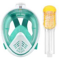 Маска для плавания swiming mask L/XL 5460 бирюза