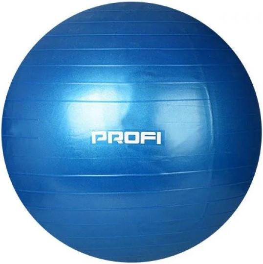 М'ячик для фітнесу, фітбол Profiball MS 1540, 65 см, синій