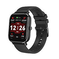 Умные часы NO.1 DT35 Plus Silicone с поддержкой измерения давления (Черный), фото 1