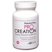 Мультикомплекс для Поддержки Женской Репродуктивной Системы, ProCreation, Natures Plus, 60 гелевых капсул