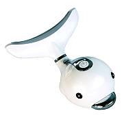 Вібромасажер для обличчя та шиї з LED-підсвічуванням та функцією нагріву Dolphin Beauter 25, фото 1