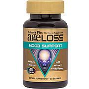 Комплекс для поддержки настроения, AgeLoss Mood Support, Nature's Plus, 60 капсул