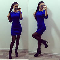 Приталенное платье с 2 молниями