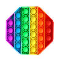 Cенсорная игрушка антистресс pop it поп ит Пупиришки антистрес попит popit симпл димпл восьмиугольник Beluck