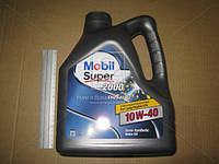 Масло 10W40 МОБИЛ  4 литр Super 2000x1 DIESEL API CF