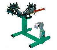 Четырехцветный печатный станок