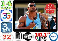 Планшет-телефон Asus Tab 10, 14 ядер, 2Sim, 32Gb, 3GB RAM, GPS, 3G, навігатор Android 10