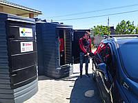 МИНИ АЗС под ключ с резервуаром METRIA 5000л с возможностью системы контроля топлива для дизтоплива