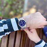 Casio EF-125D-2AVEG Silver-Blue, фото 3