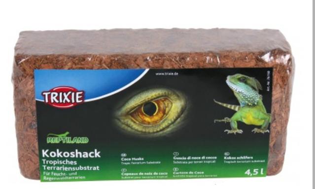 Кокосова лушпиння для тераріумів 4,5 л, Trixie TX-76150