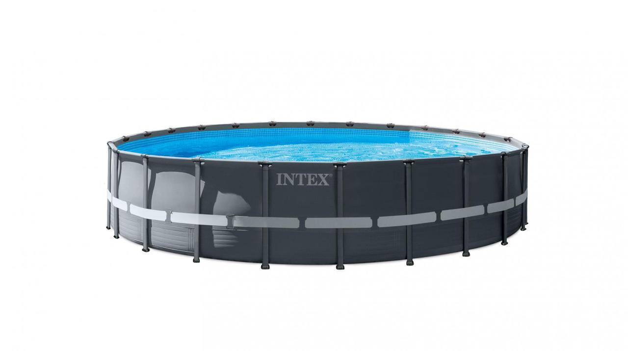Бассейн каркасный Intex 26340 круглый 732х132 см 47241л фильтр-насос 28648 (bint_26340)
