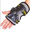 Защита наколенники, налокотники, перчатки Zelart SK-4677 GRACE фиолетово-белый размер M, фото 4