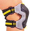 Защита наколенники, налокотники, перчатки Zelart SK-4677 GRACE фиолетово-белый размер M, фото 5