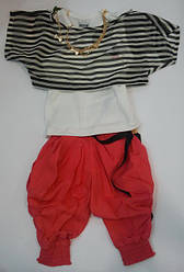 Комплект BOW: болеро, майка-босерка, шорты-шароварчики