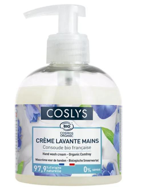 Крем-гель для мытья рук с органическим окопником Coslys, 300 мл