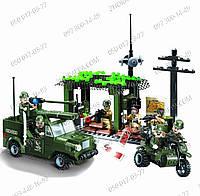 «Военный штаб» Конструктор Enlighten Brick 809 Развивающие игрушки Умный малыш Конструктор Brick 285 деталей