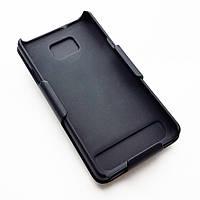 Чехол накладка с креплением на ремень для Samsung i9100 Galaxy S2 (черного цвета)