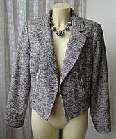 Жакет женский пиджак нарядный элегантный бренд Debenhams р.50 4720